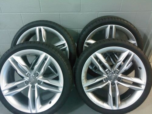 Vwvortex Com S5 Oem Wheels With Dunlop Sp Sport Maxx Tires
