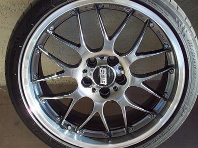 "Carbon Fiber Wheels >> FS: 19"" BBS RS-GT Black Diamond wheels w/Michelin Pilot ..."