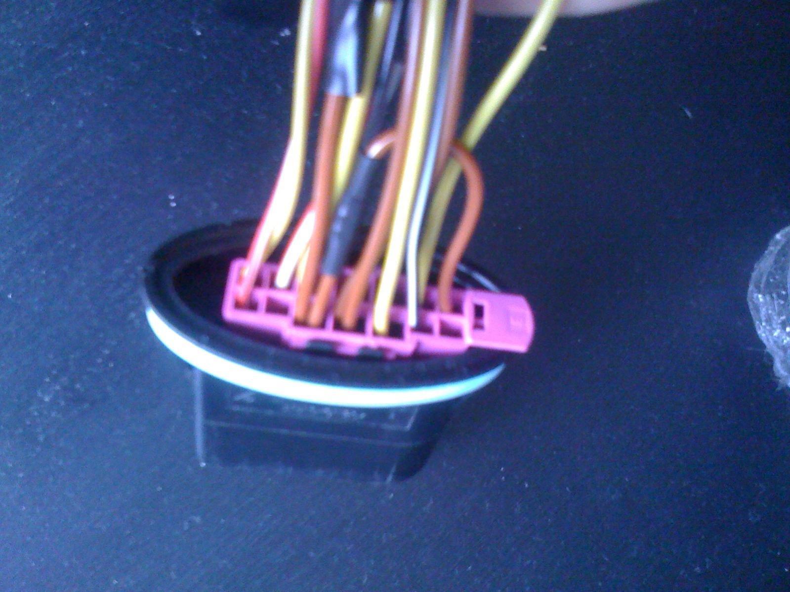 14 pin headlight socket??? | audi forums  audi forums