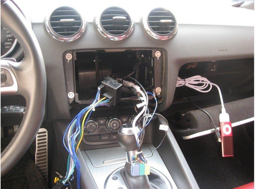 Look My Diy Stereo Work Of Audi Tt 2006