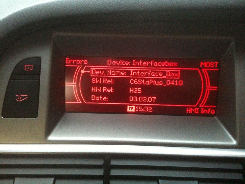 A6 MMI Nagivation, Bluetooth and DAB   Audi-Sport net