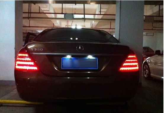Mercedes-Benz S350 LED taillights modified-4.jpg