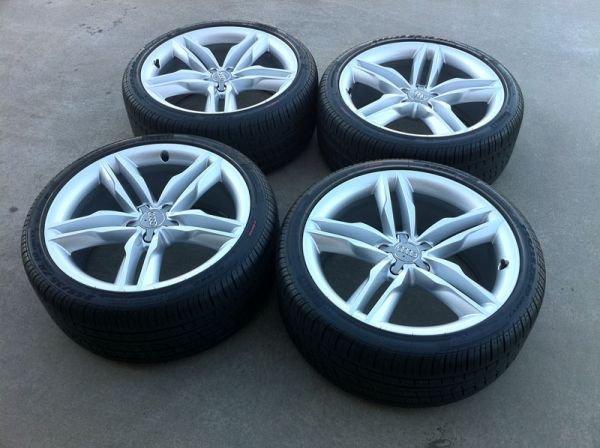 "Audi A4 Wheels >> 19"" Audi S5 OEM Alloy Wheels Rims Continental DWS Tires A5 S4 A4 18 20 - $2200 NJ - Audi Forums"