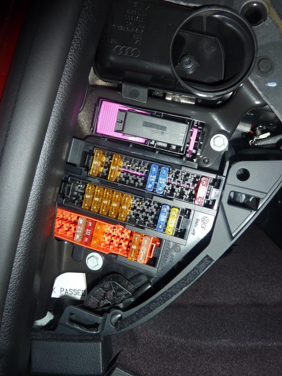 CAN +/- Connections | Audi Forums | Audi C6 Fuse Box |  | Audi Forums