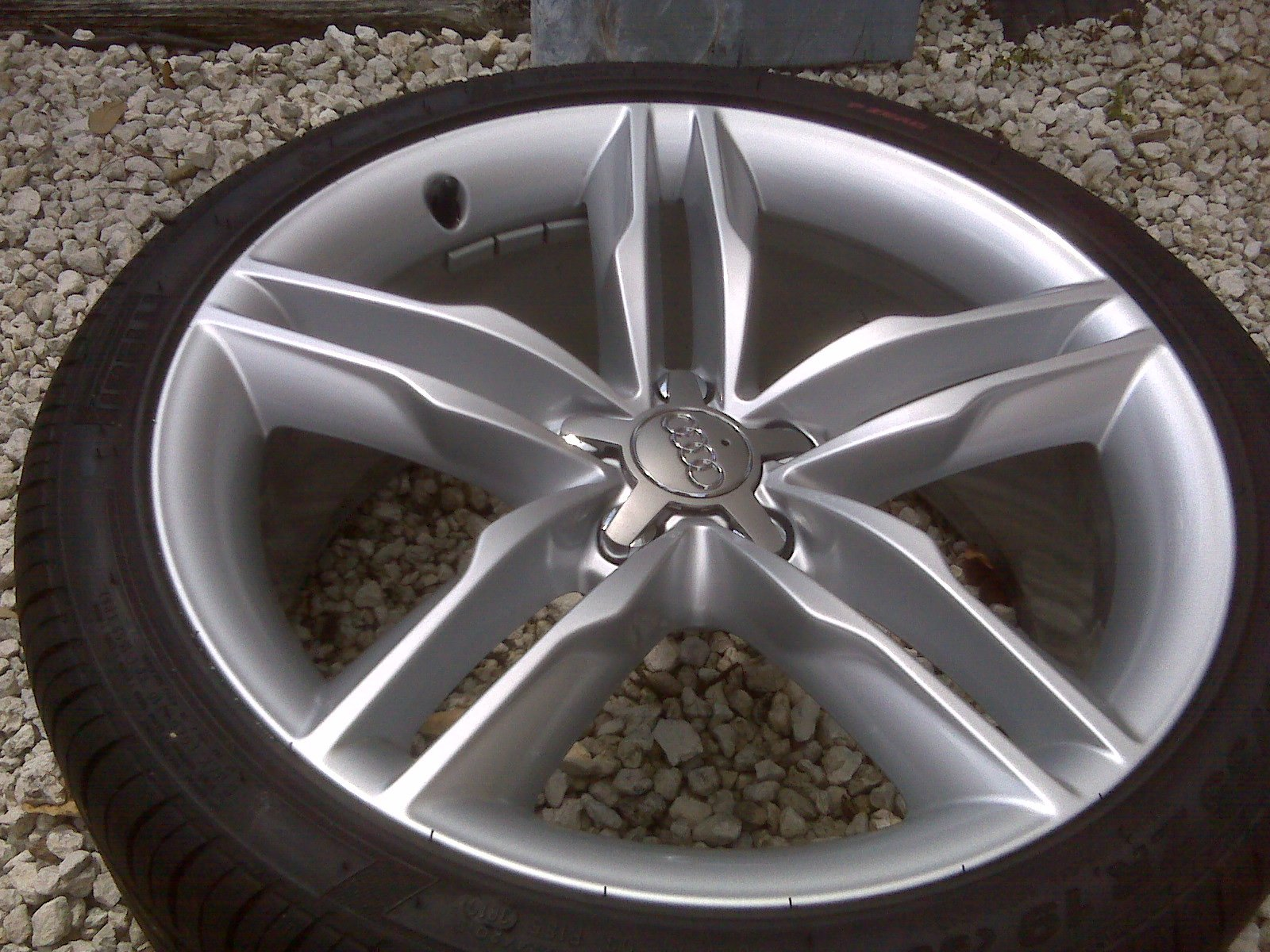 New Set Of Oem Wheels And Tires S 5 Audi Forums