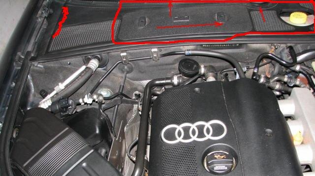 where can i find this part plastic battery cover audi. Black Bedroom Furniture Sets. Home Design Ideas