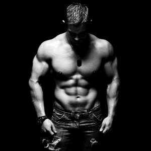 black and white bodybuilding man desktop background hd wallpaper widescreen images full free download