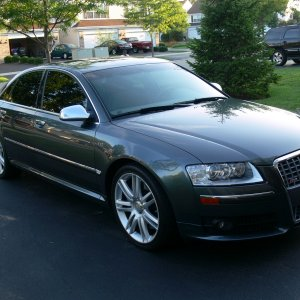 My first Audi 2007 S8